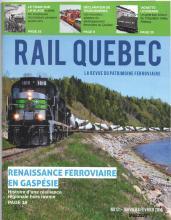 Rail Québec #121 janvier / février 2019